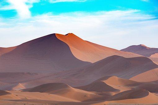 Afrique, Dune De Sable, Désert, Sec