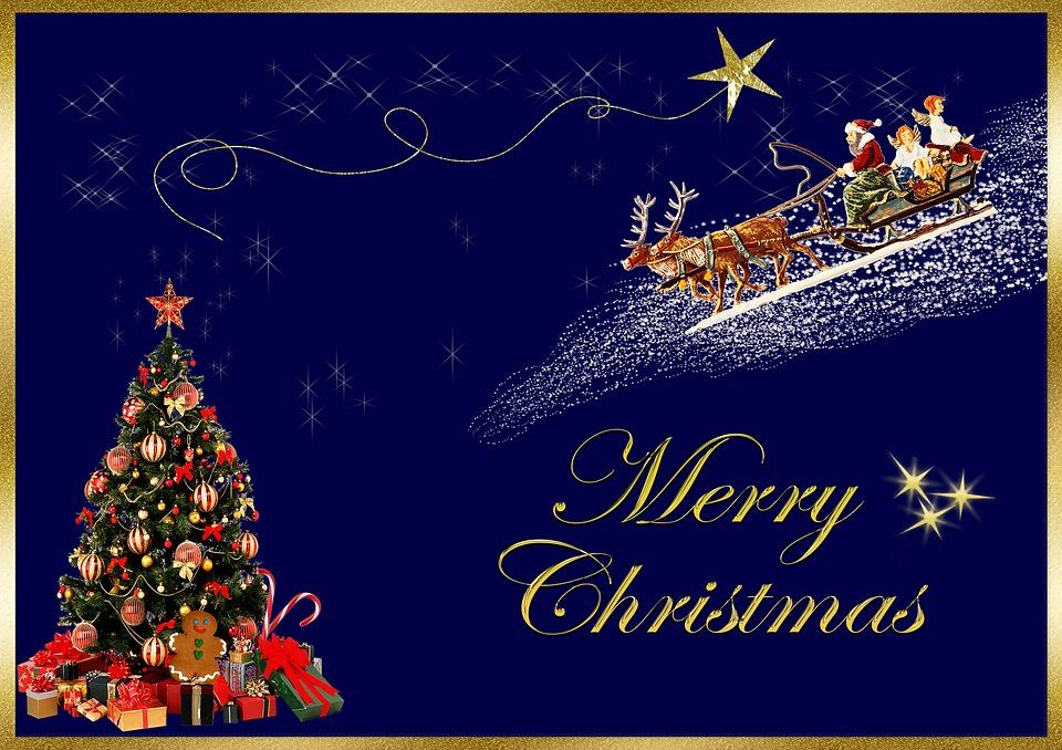 Immagini Auguri Di Natale Gratis.Cartolina Di Natale Buon Immagini Gratis Su Pixabay