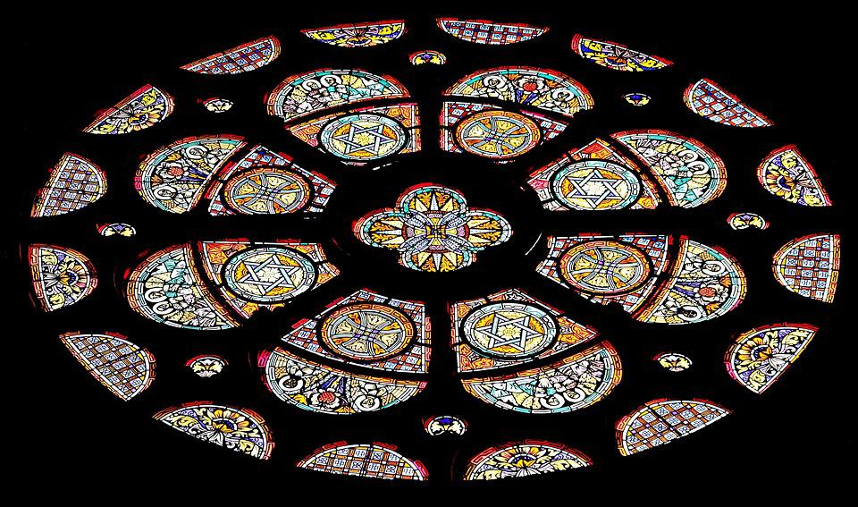 church glasses