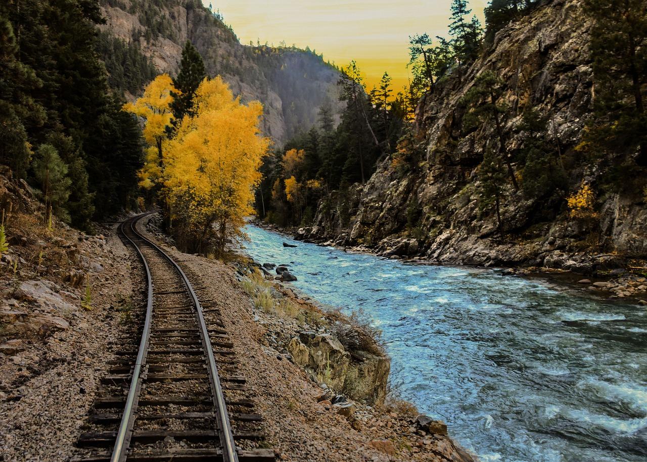 качественные фотографии железной дороги