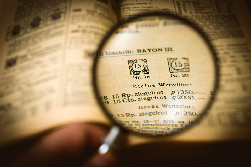 切手収集家, スタンプ コレクション, スタンプ, 収集, コレクション, ガラス, ループ, ズーム, 詳細