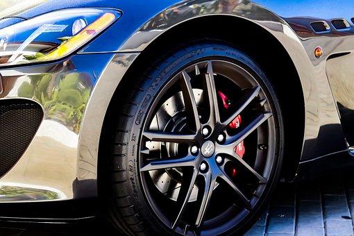 Maserati, Car, Rim, Auto, Automobile