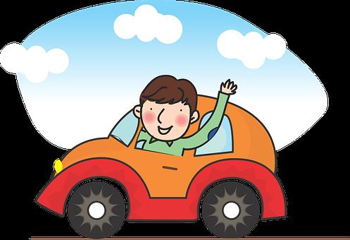 運転, 自動車の運転, 運転している男