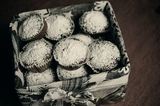 Muffins, Schokomuffins, Pastries