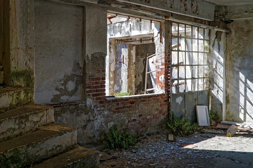 Abandoned Building Brick 183 Free Photo On Pixabay