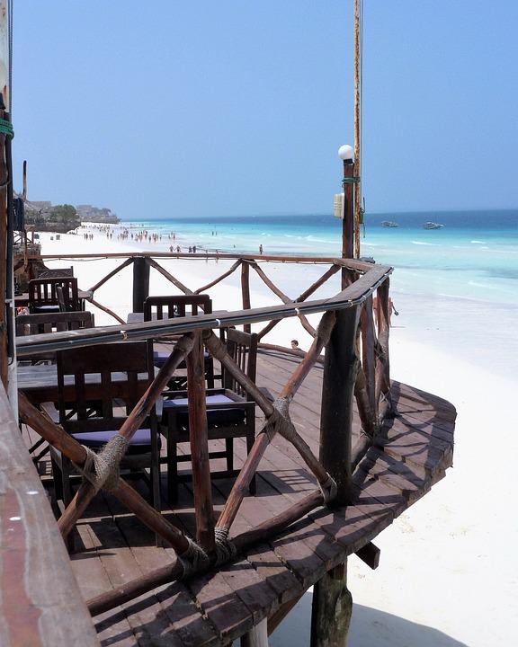 Beach, Hotel, Resort, Zanzibar, Tanzania, Africa