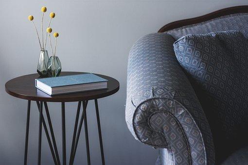 ソファー, リビングルーム, 家具, 椅子, テーブル, サイドテーブル, 屋内
