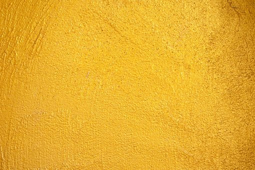Color Concrete Design Gold Pattern St