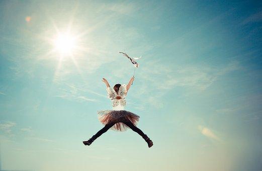 Child, Costume, Fairy, Fly, Girl, Heaven