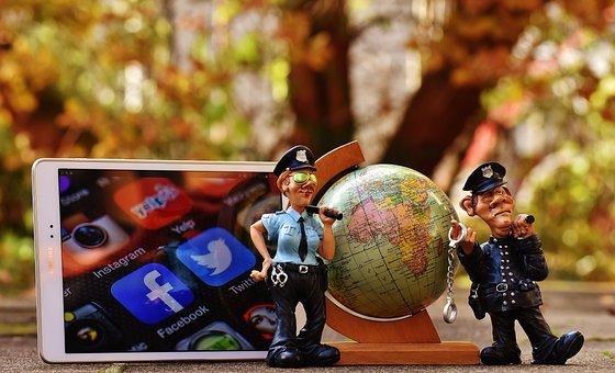 Social Media, Internet, Security, Global