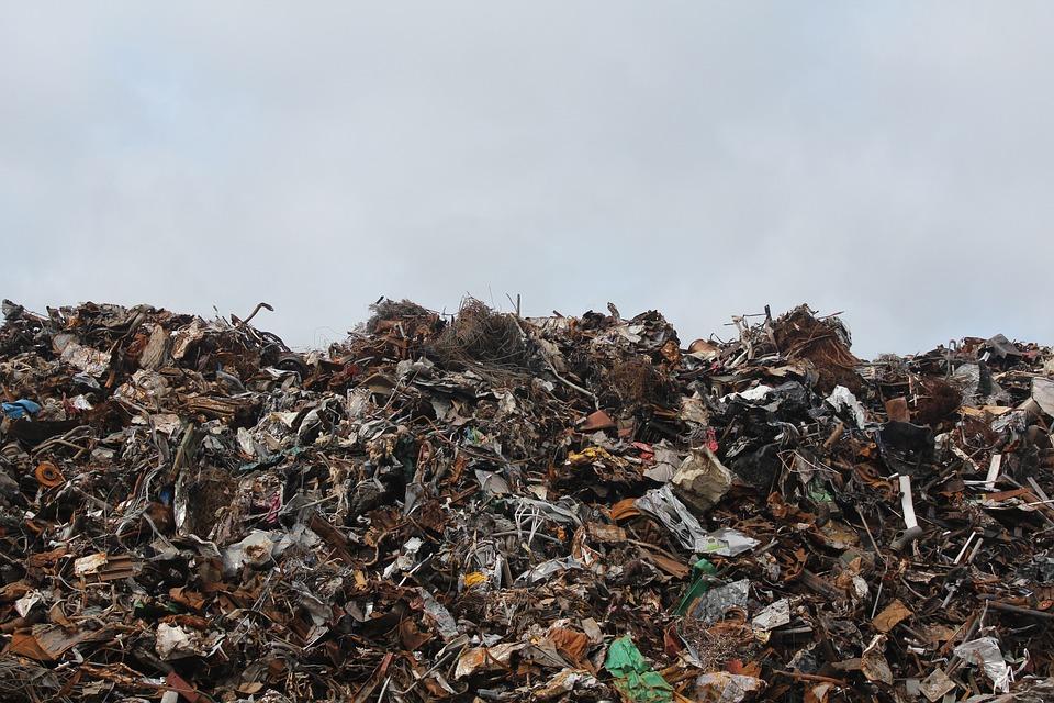 Entsorgung, Dump, Müll, Trödel, Deponie, Wurf, Haufen