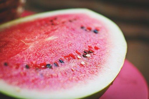 Watermelon, Melon, Colorful, Cool, Cut