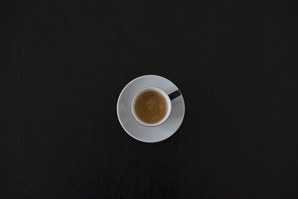 カフェイン、コーヒー、カップ、ドリンク、エスプレッソ、マグカップ、シンプル