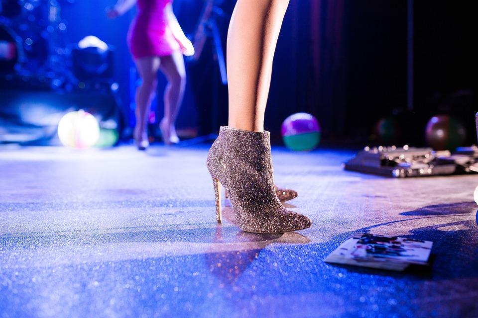High Heels, Feet, Legs, Glitters, Shoes, Footwear