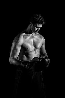 Body, Boxer, Man, Portrait, Muscles