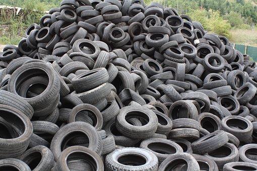 タイヤ, 中古タイヤ, Pfu, ごみ, リサイクル, タイヤ, タイヤ