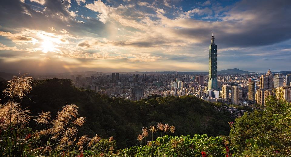 Bâtiments, Taiwan, Taipei 101, Ville, Paysage Urbain