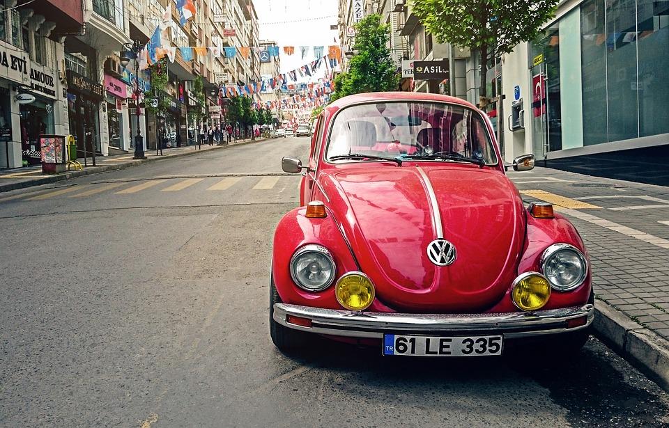 Automobil, Vw Käfer, Auto, Stadt, Klassiker, Oldtimer