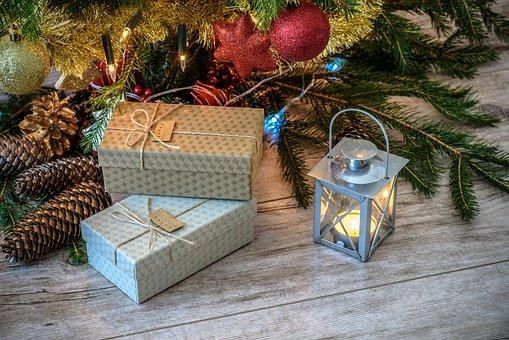 Retro Gifts, Christmas Tree, Vintage
