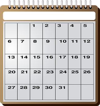 calendario Ciselt