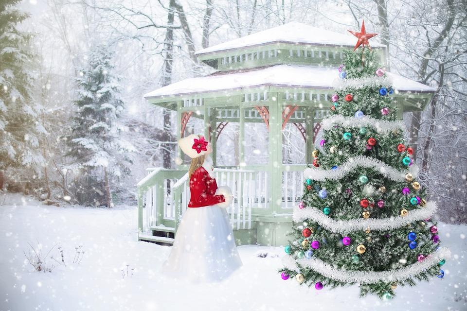 Joulu Tausta, Taustaa, Christmas Kohtaus