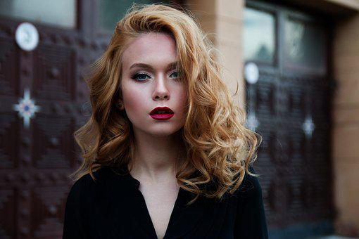 Girl, Red Hair, Makeup, Caucasian, Model