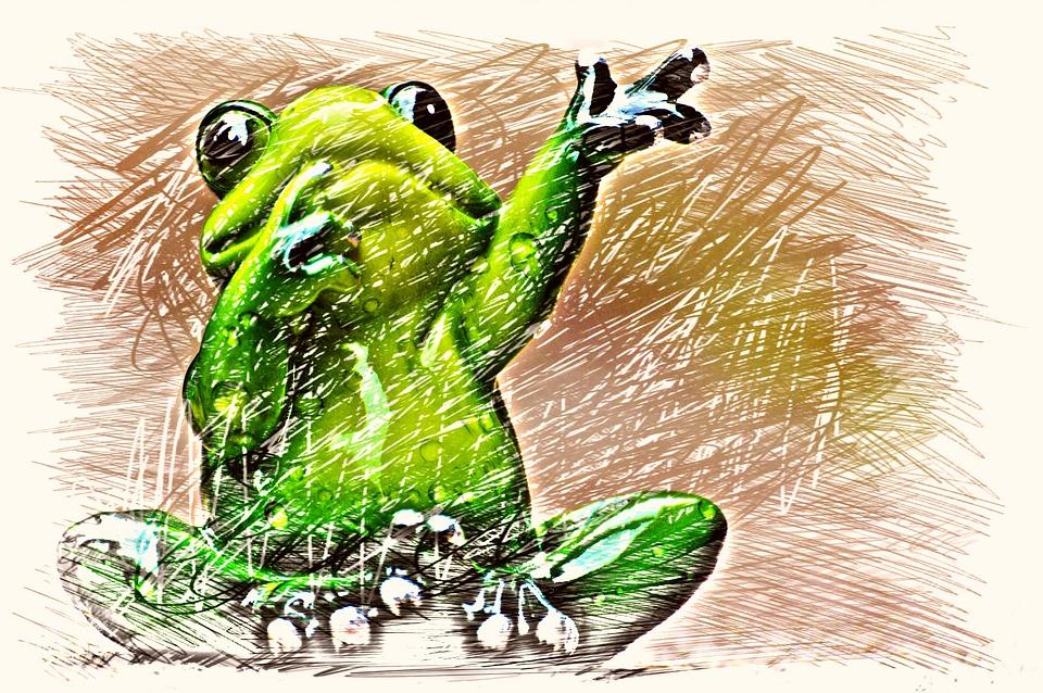 Sapo Onda Desenho Imagens Gratis No Pixabay