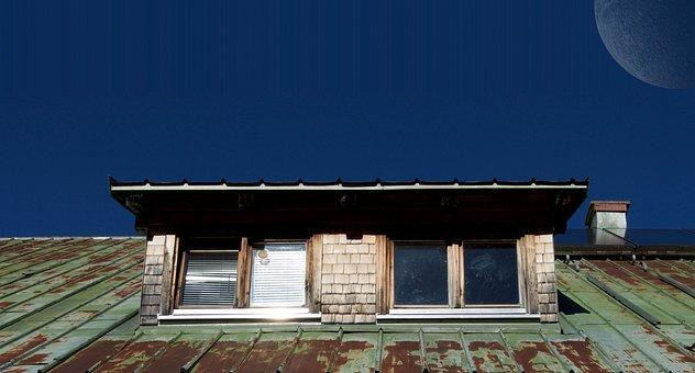 Chimney, Corrugated Sheet, Roof