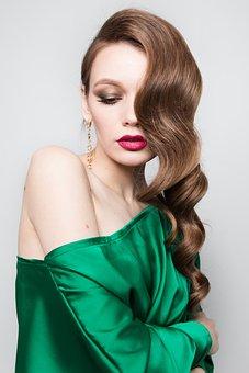 Girl, Fashion, Makeup, Beauty, Model