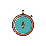 stopwatch, icon, clock