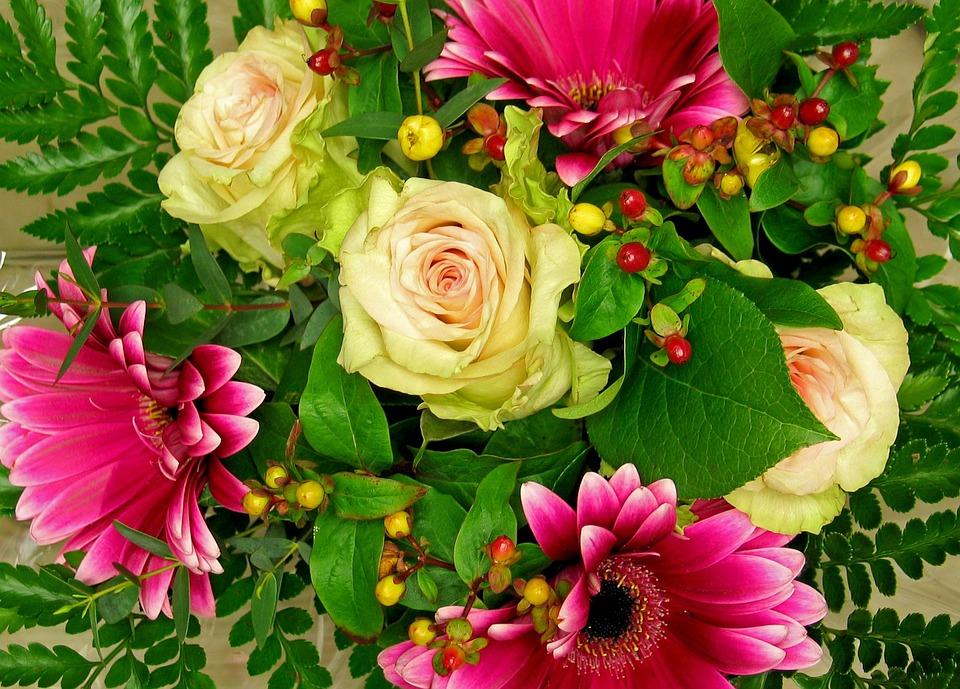Eccezionale Foto gratis: Mazzo, Fiori, Bouquet Di Fiori - Immagine gratis su  IB27