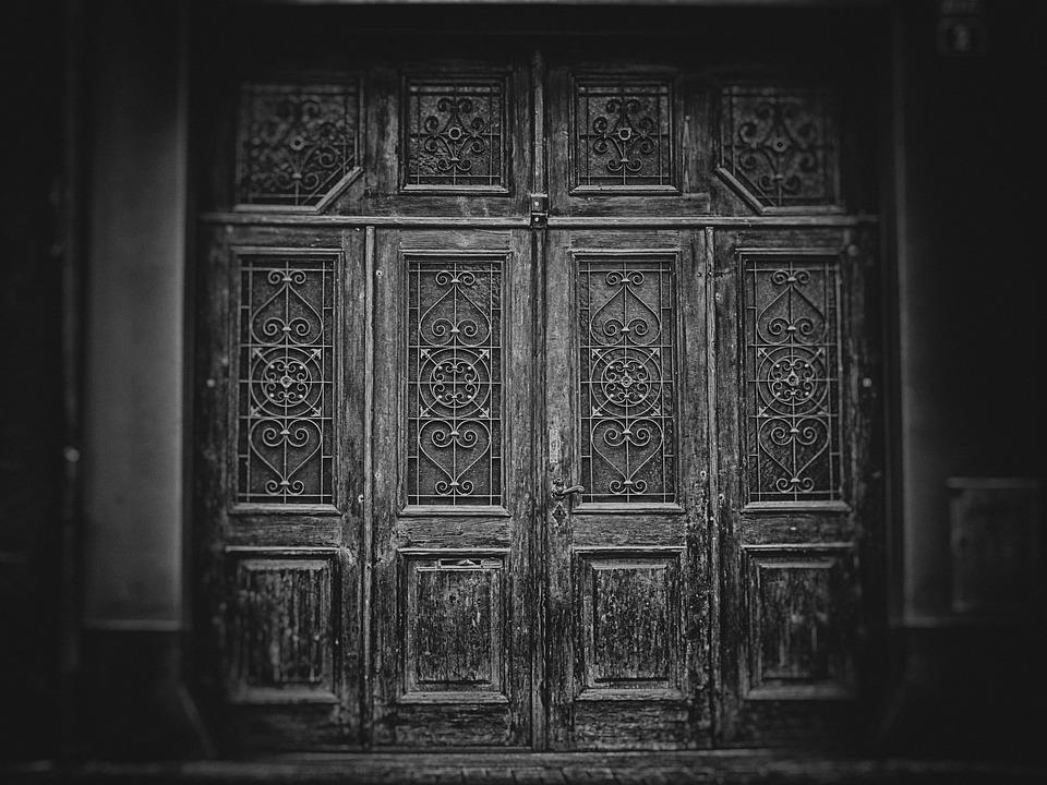 Wallpaper Background Gate Door The Secrets Of