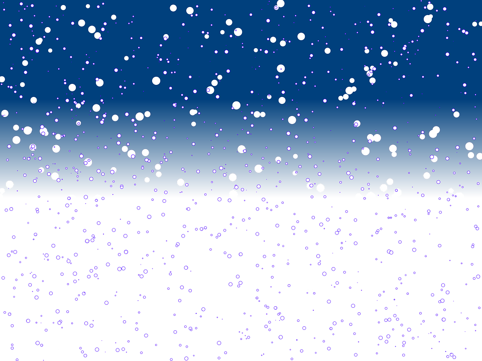 free illustration effect snow winter christmas free