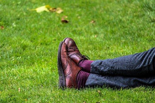 Feet, Field, Footwear, Grass, Legs