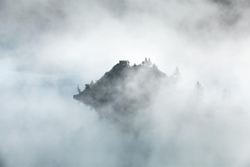 Nubes, Niebla, Montaña, Pico De La Montaña, Naturaleza