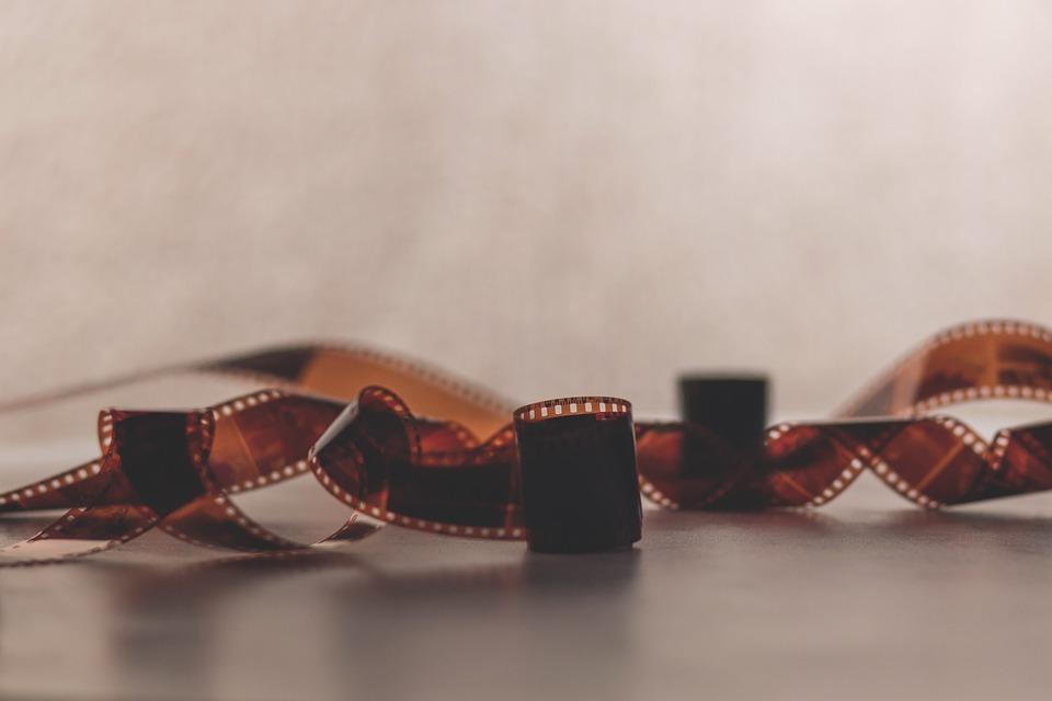 写真, ネガ, レトロ, フィルム1本, 映画