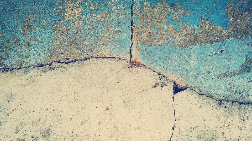 Concrete damage - driveway maintenance