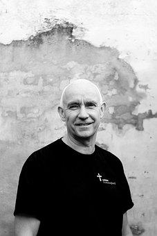 Priest, Denmark, Old Man, Portrait