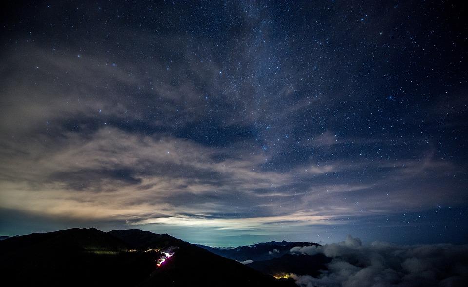 Dark Sky Stars Free Photo On Pixabay