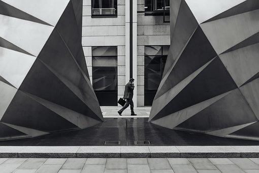 Architecture, Building, Businessman