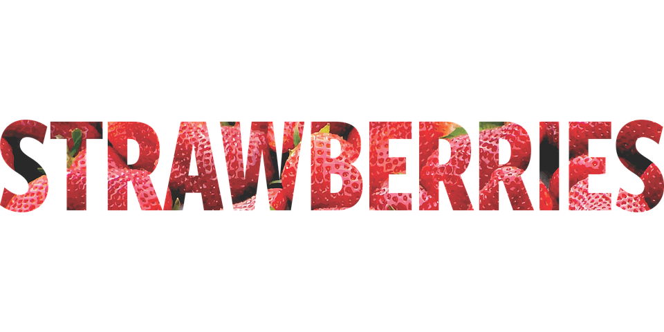 Free vector graphic: Word, Strawberries, Picture, Red - Free Image ...