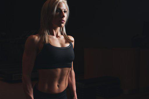 Abs, Athlete, Biceps, Blonde, Body, Fit