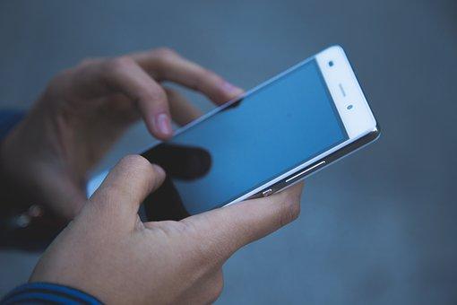 Kädet, Puhelin, Smartphone