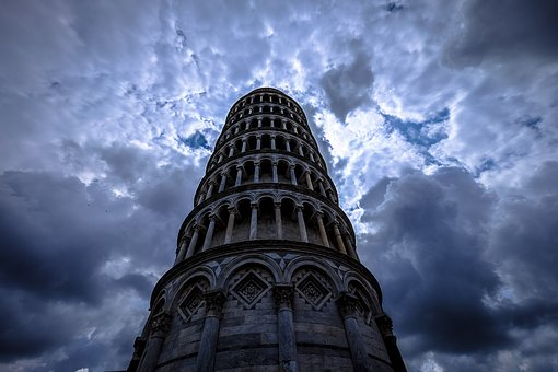 Arches, Leaning Tower Of Pisa
