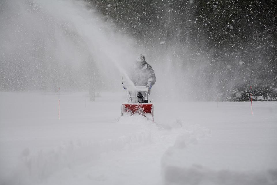 Image result for snow storm snow blower image