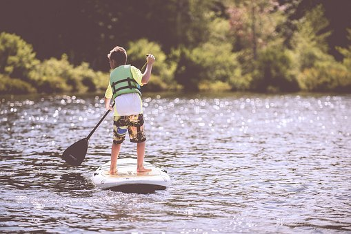 Boy, Child, Fun, Kid, Lake, Leisure
