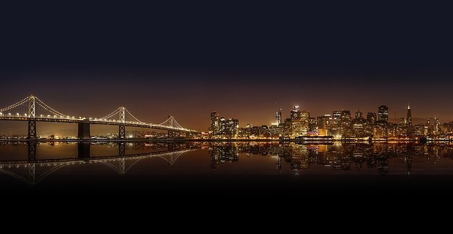 Architektur, Brücke, Gebäude, Stadt