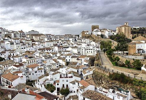 Qué ver qué hacer en Cádiz, Pueblos Blancos Andalucía, Panorámica de Setenil