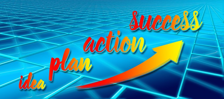 Idea Plan Action Success Concept Economy B