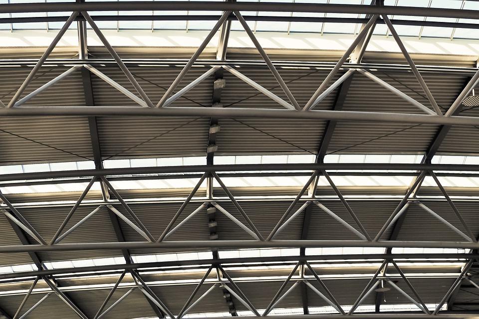 Kostenloses Foto: Architektur, Konstruktion, Dach - Kostenloses ...
